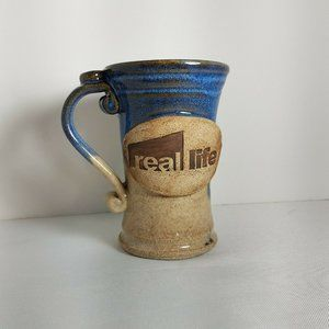 Other - Stoneware Pottery Coffee Cup Real Life 10 oz